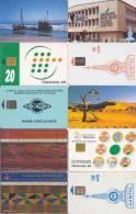 10 Telefoonkaarten Namibia Ghan Gambia Cote Ivore (1) - Côte D'Ivoire