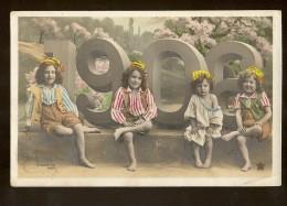 CPA 88 BULGNEVILLE  BONNE ANNEE / MILLESIME 1906 / CHIFFRES ET ENFANTS / STEBBING PHOTO - France