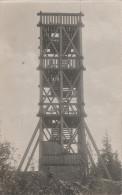 AK Strobnitzwarte Rozhledna Strobniku Stropnik Turm Bei Langewiese Dlouha Louka Osseg Osek Haan Haj Klostergrab Hrob - Sudeten