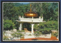 BRUNEI MNH POSTCARD POST CARD MAGNIFICENT TOMB  5TH RULER MAJESTY SULTAN BOLKIAH - Brunei