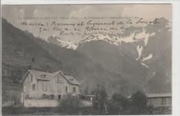 Le Rivier D'allemont Le Château Et La Chaîne Des Sept Laux - Autres Communes
