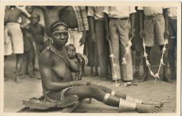 Afrique Qui Disparait Photo Zagourski Leopoldville 45 Maternité Chez Les M' Bouaka Allaitement Real Photo - Congo Belge - Autres