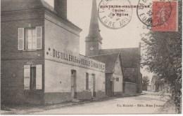 Fontaine Heudebourg  L'Eglise Et La Distillerie De La Vieille Chaumière - Autres Communes