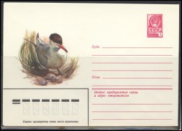 RUSSIA USSR Stamped Stationery 14400 1980.06.25 Fauna Birds - 1980-91