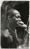54 AEF Fort Archambault Negresse A Plateaux Edit Hoa Gui Mutilation Levre Piercing - Tchad