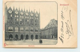 STRALSUND - Rathaus. - Stralsund