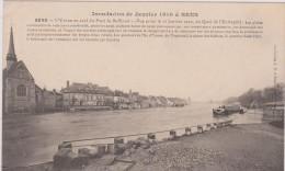 SENS. Inondation De 1910 - Sens