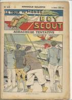 """Fascicule, """"Le Tour Du Monde D´un Boy Scout"""" -  Audacieuse Tentative - Arnould Galopin - N° 46 - Livres, BD, Revues"""