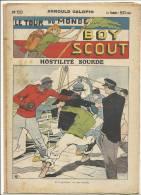 """Fascicule, """"Le Tour Du Monde D´un Boy Scout"""" -  Hostilité Sourde - Arnould Galopin - N° 50 - Livres, BD, Revues"""