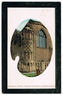 RB 1050 - Early Postcard - Norman Tower Priory Church - Christchurch Dorset Hampshire - Bournemouth (until 1972)