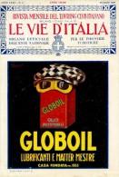 PUB 136 - PUBBLICITA LUBRIFICANTI GLOBOIL - 1926 - Pubblicitari