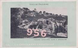 CPA * * JERUSALEM * * Anciens Sépulcres Juifs, Vues De Palestine - Israele