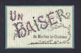 Un Baiser De MERBES LE CHATEAU  ( Paillettes ) - Merbes-le-Château