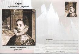 Enveloppe Illustrée ORGUE ORGAN ORGEL ORGANO : Compositeur Hans Leo HASSLER (1564-1612) - Music