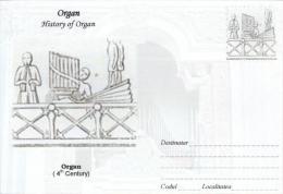 Enveloppe Illustrée ORGUE ORGAN ORGEL ORGANO : Organ 4th Century - Music