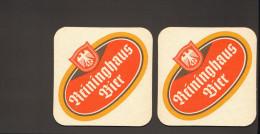 Bierdeckel Reininghaus Bier  R: Wie Vorderseite - Sous-bocks