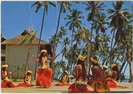 Danse Vahinés Tahiti Nui Voyage Soldat 24259 Kms Bahrein Singapour Jakarta Sydney Noumea  Nandi Papeete - Tahiti