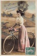 FANTAISIES Vélo Bicyclette -  LOT De 5 Cartes - Fancy Cards