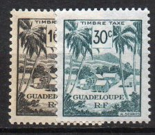 1/ Guadeloupe Taxe N° 41 & 42 Neuf  XX  , Cote : 1,00 € , Disperse Trés Grosse Collection ! - Guadeloupe (1884-1947)