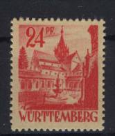 W�rttemberg Michel No. 8 v w ** postfrisch