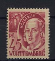 W�rttemberg Michel No. 9 v w II ** postfrisch