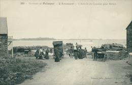 22 PLOUBAZLANEC / L'Arrivée Du Courrier / - Ploubazlanec