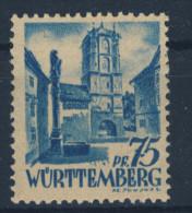 W�rttemberg Michel No. 11 v w II ** postfrisch