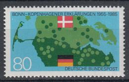West-Duitsland - 30 Jahre Bonn-Kopenhagener Erklärungen - Gezamenlijke Uitgave Denemarken - MNH - Michel 1241 - Gezamelijke Uitgaven