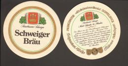 Bierdeckel Schweiger Bräu Markt Schwaben Bei München  R: Sortiment - Bierdeckel