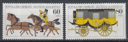 West-Duitsland - Internationale Briefmarkenausstellung MOPHILA '85, Hamburg - Postillion - MNH - Michel 1255-1256 - Post