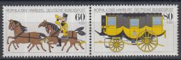 West-Duitsland - Internationale Briefmarkenausstellung MOPHILA '85, Hamburg - Postillion - MNH - Michel 1255-1256 Paar - Post