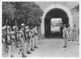 MILITARIA  Légion  Légionnaire  Inspection Du Colonel Passage De Consigne Bel Abbes ?    2 Scan - Documents