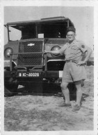 MILITARIA  Légion  Légionnaire Camion 2 Photos   2 Scan - Documents