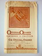 Paris, Original-Edhner Machines à Calculer (4 Pp) - Publicités