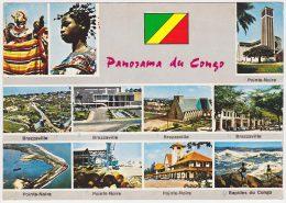 Carte Postale Moderne Congo - Panorama Du Congo, Voir Description - Congo - Brazzaville