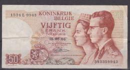 BANKBILJET 50FR - [ 6] Treasury