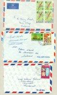 St Christopher Nevis Anguilla - 3 Covers - St.Christopher, Nevis En Anguilla (...-1980)