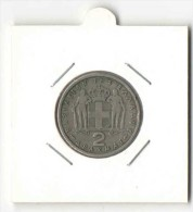 2 Drachmas 1957  (Greece, Grece, Griechenland, Griekenland, Grecia, Drachmai Coin) - Greece