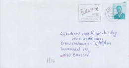 >>>>> TRANSORMA ## H06 ## Op Gelopen Brief / Sur Pli Voyagé / On Travelled Cover. - Belgium