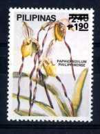 Filippine Philippines Philippinen Pilipinas 1988 Orchids Overprinted In Black 1p90 On 2p40 - MNH ** (see Photo) - Filippijnen