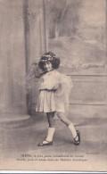 Carte 1910 IRENE / La Plus Jeune Comédienne Du Monde ,chante,joue Et Danse Dans Ses Sketchs Drolatiques - Entertainers