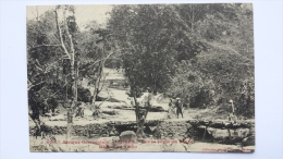 GUINEE Afrique SUR LA ROUTE DU FOUTA Region De YMBO 670 CPA Animee Postcard - Guinea