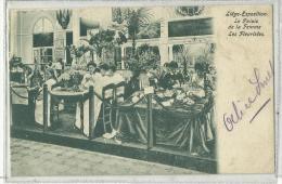 LIEGE - Exposition Universelle 1905 - Le Palais De La Femme - Les Fleuristes - Luik