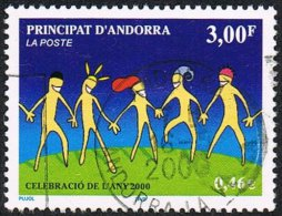 Andorra (French POs) SG F563 2000 Year 2000 3f Good/fine Used - Andorra Francesa