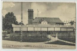 LIEGE - Exposition Universelle 1905 - Pavillon Des Wagons-lits Et Eglise De Fetinne - Luik