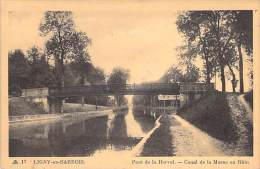 LIGNY EN BARROIS 55 - Pont De La Herval : Canal De La Marne Au Rhin - CPA - Meuse - Ligny En Barrois