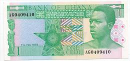 GHANA : 1 Cedi 1979 (unc) - Ghana