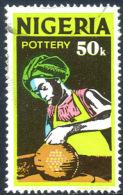 NIGERIA 1973 - 50K Offset Printing & Watermarked Used - Nigeria (1961-...)