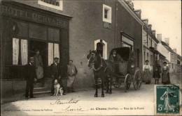 72 - CHENU - Attelage - Rue De La Poste - Hotel - Other Municipalities