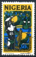 NIGERIA 1973 - 30K Offset Printing Used - Nigeria (1961-...)